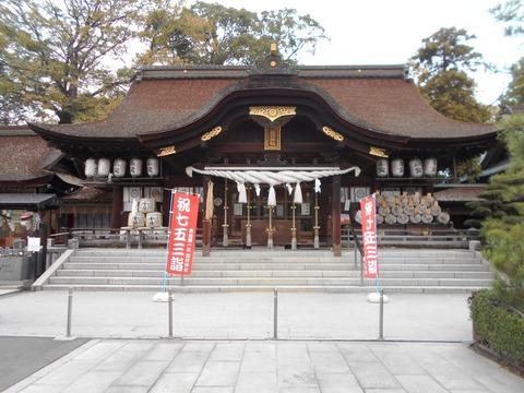 田村神社神殿