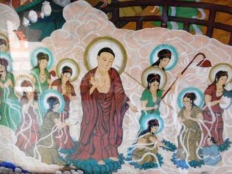 極楽絵図47番八坂寺