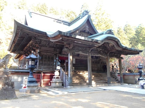別格15番箸蔵寺本堂