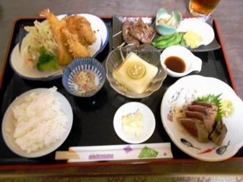 植松旅館の食事