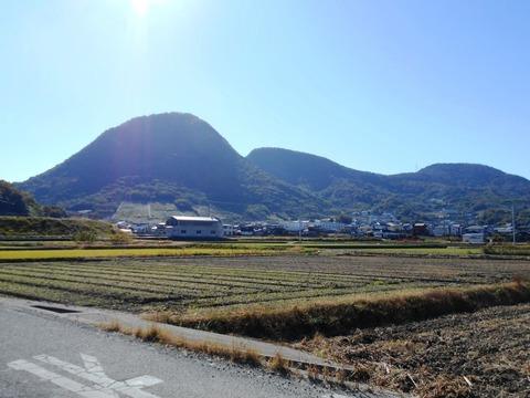 甲山寺付近の風景