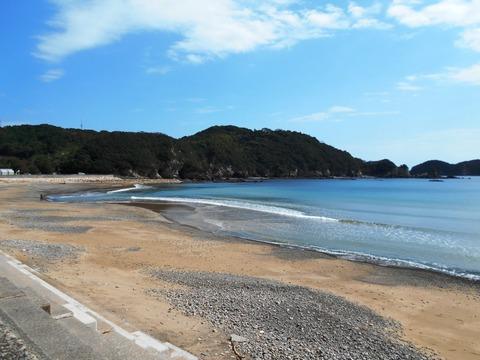 23番への道(たいの浜)