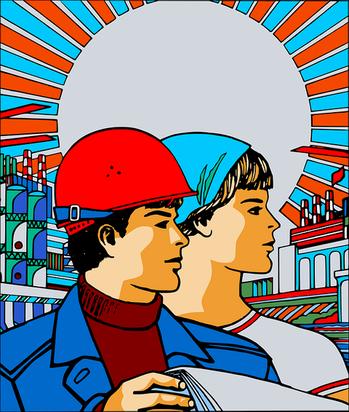 ロシアのポスター