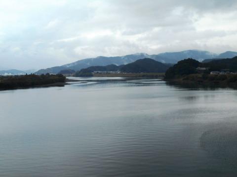 38番への道()四万十川)