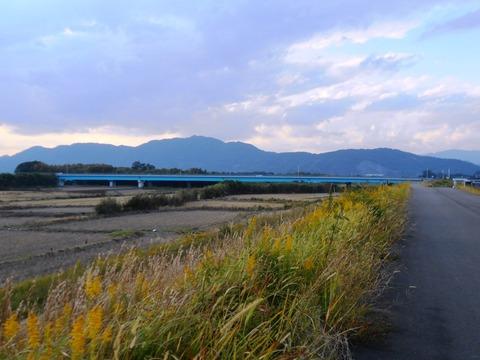 35番への道(仁淀川)
