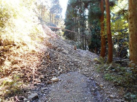 横峰寺への道2