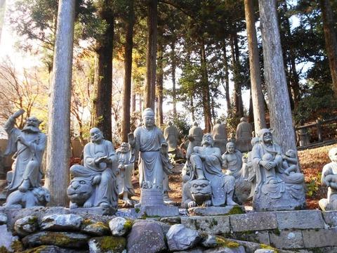 雲辺寺五百羅漢2