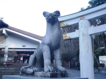 三峰神社狛犬