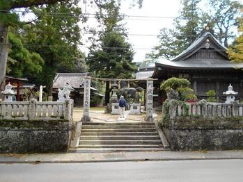 一宮神社(13番前)