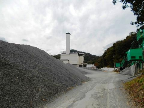 41番への道(津島採石場)