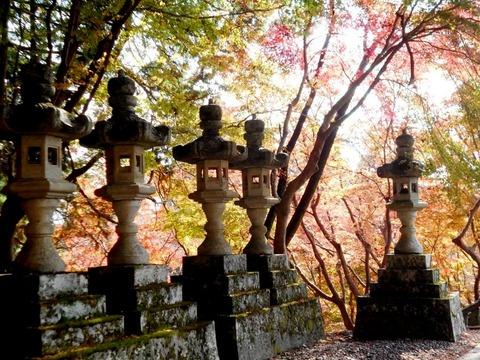 別格15番箸蔵寺(紅葉)