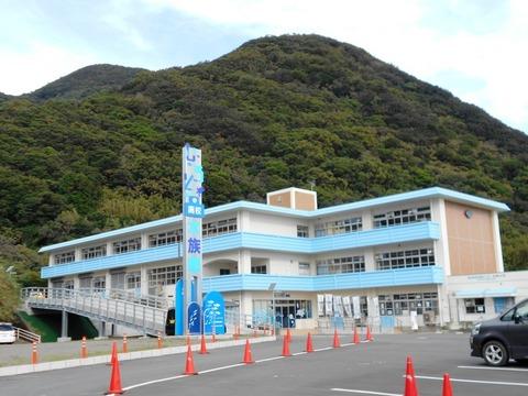 24番への道(室戸水族館)