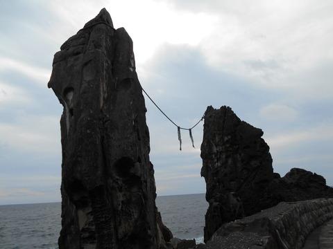 24番への道(夫婦岩)
