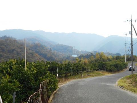 萩原寺への道