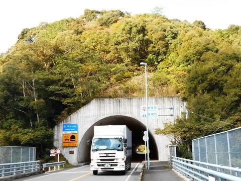 40番への道(正木トンネル)