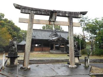 11番への道(八幡宮)