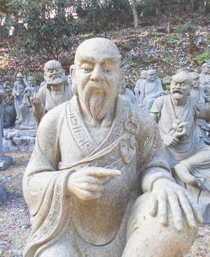 雲辺寺五百羅漢3