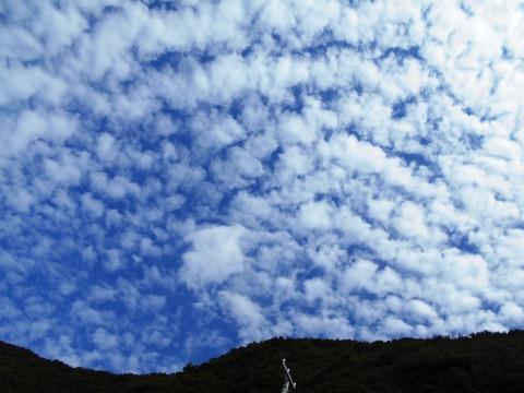 39番への道(大月うろこ雲)