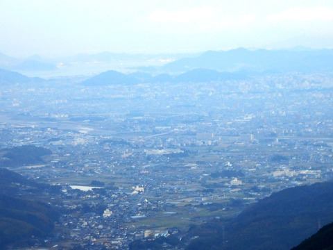 46番への道(三坂峠)