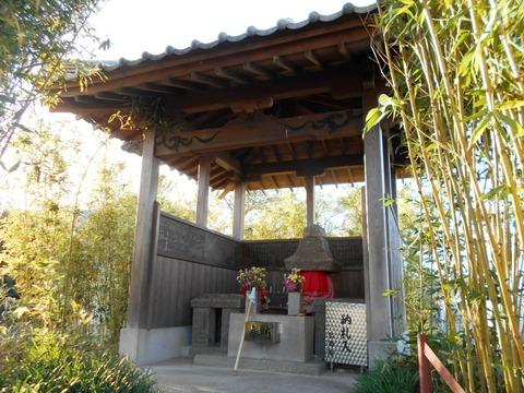 海岸寺への道2(えな塚)