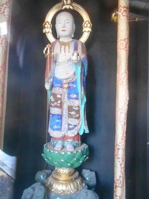 曼荼羅寺美しい菩薩像