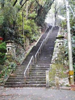 10番幡切寺石段