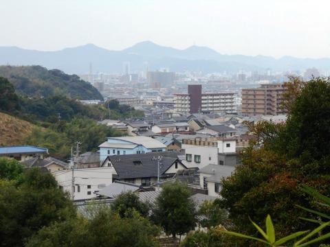 30番への道(高知市遠望)