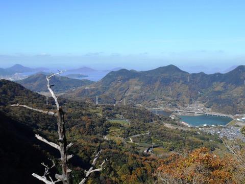 出釈迦寺捨身が岳からの眺め