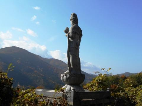 別格20番大瀧寺下山道2