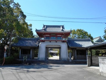 6番安楽寺山門
