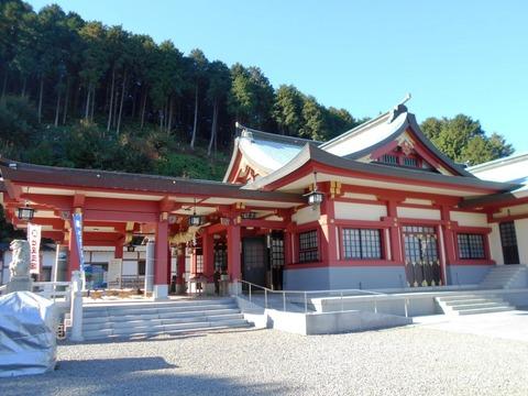 石鎚神社本殿