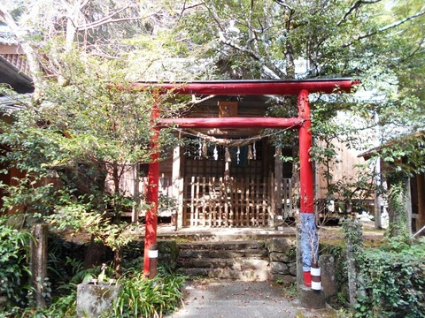 39番への道(大月月山神社3)