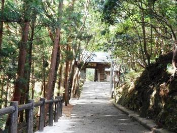 第20番鶴林寺参道