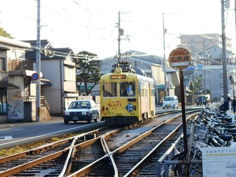 32番への道(路面電車)