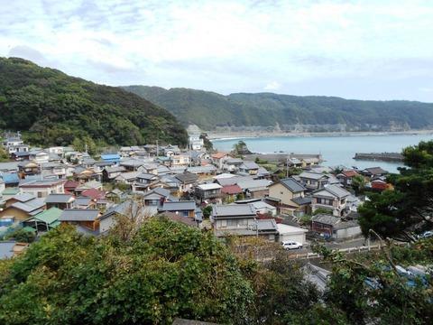 39番への道(大月大浦)