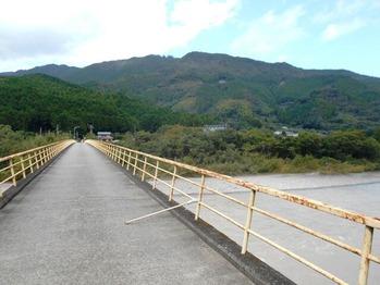 21番への道(那賀川の水井橋)
