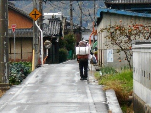 71への道(こじき遍路)