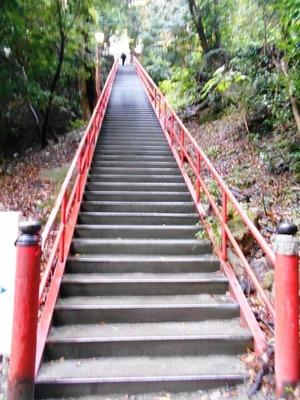 いやだに寺階段