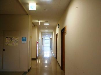宿さかもとの廊下