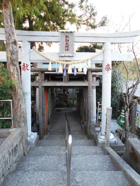 35番への道(いびら稲荷1)