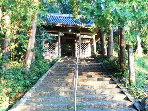 35番清滝寺(石段)