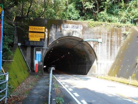 24番への道(水床トンネル)