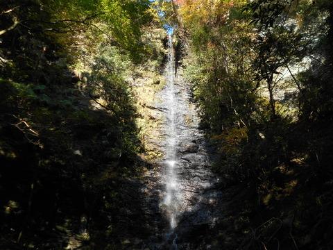 仙龍寺への道3(清滝)