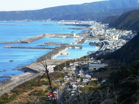 25番への道(室戸スカイラインからの景色)