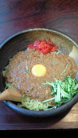 インド風ジャージャー麺