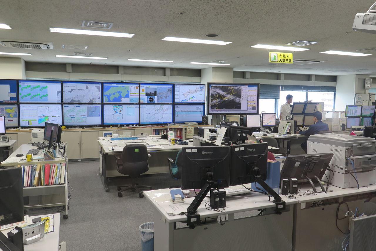 気象台 大阪 管区