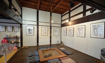 2018,8月 岡山 寛 作品展 (4)