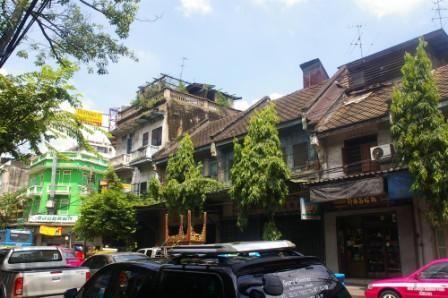 チャイナタウンの街並み