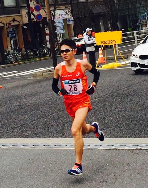 東京マラソン15川内優輝選手