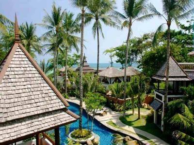 サムイ島チャウエンビーチのホテル1